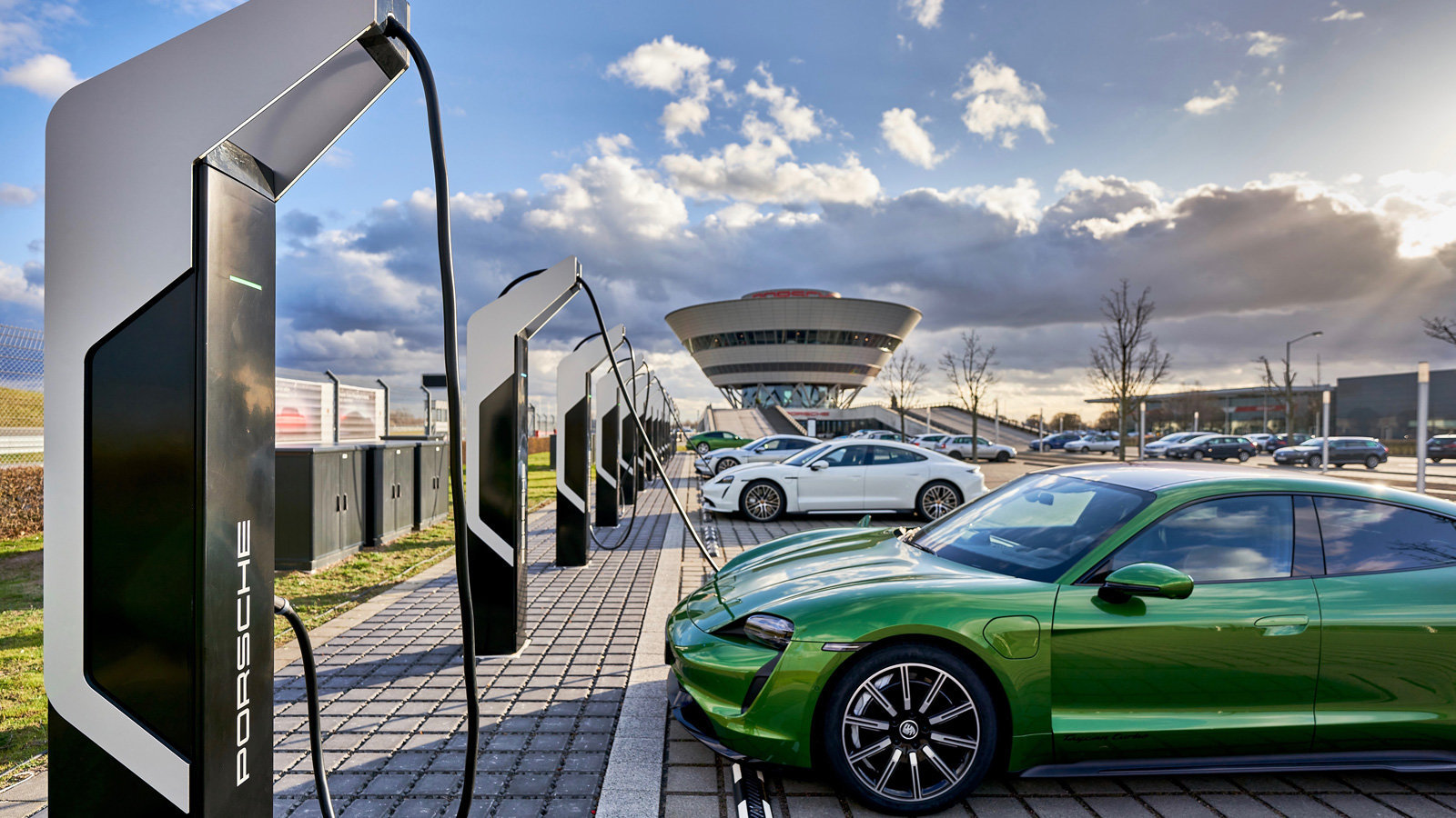 Photo of Europe's Most PowerFul EV Park Opened In Germany