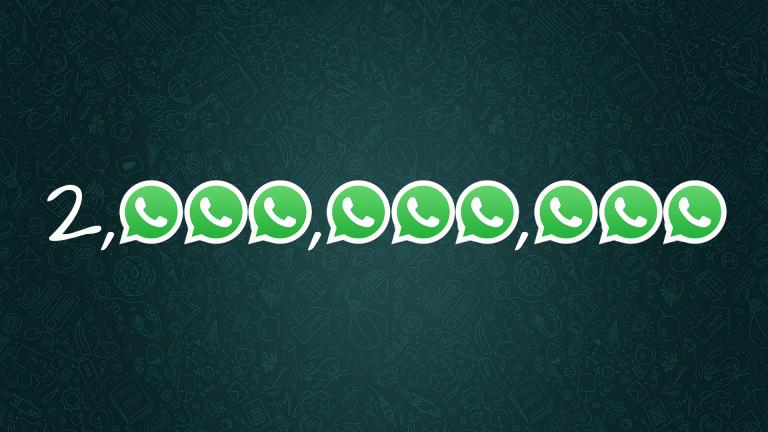 WhatsApp Crossed 2 Billion Users Mark