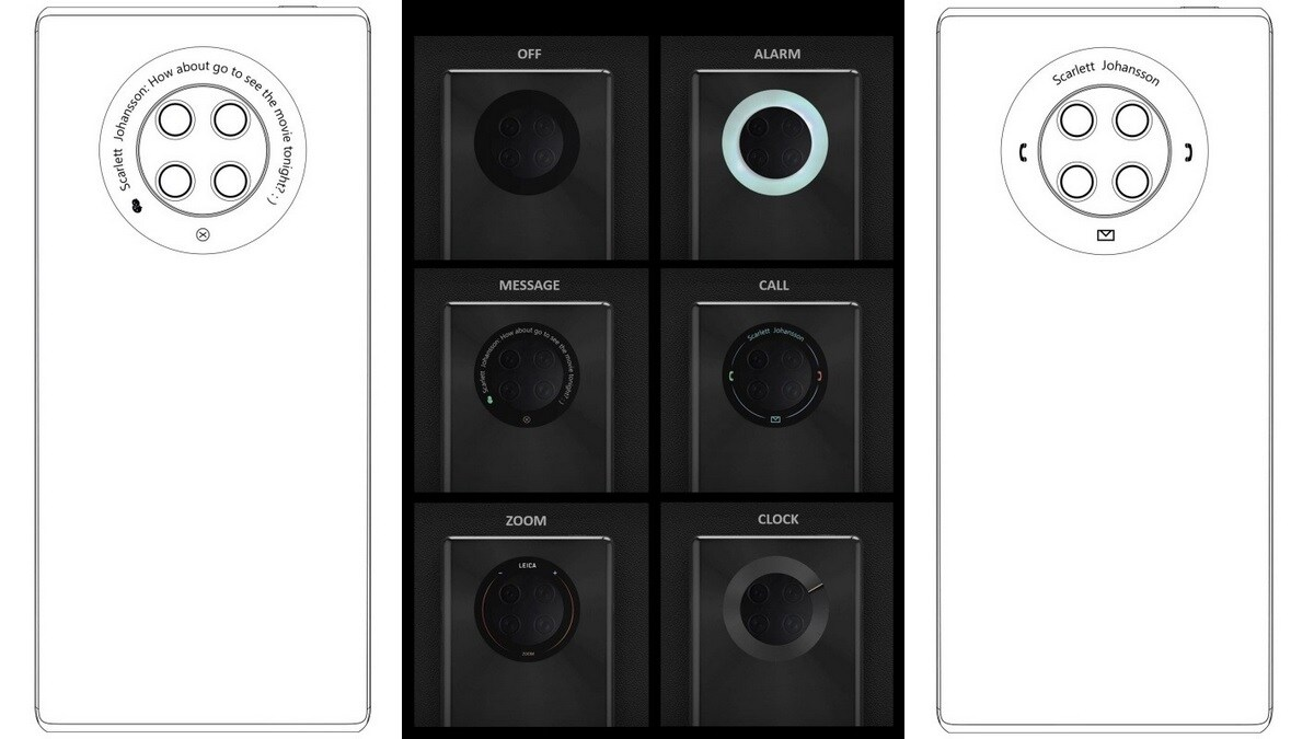 Photo of Huawei Mate 40 Pro Patent Leaked; Featured Circular Touch Display