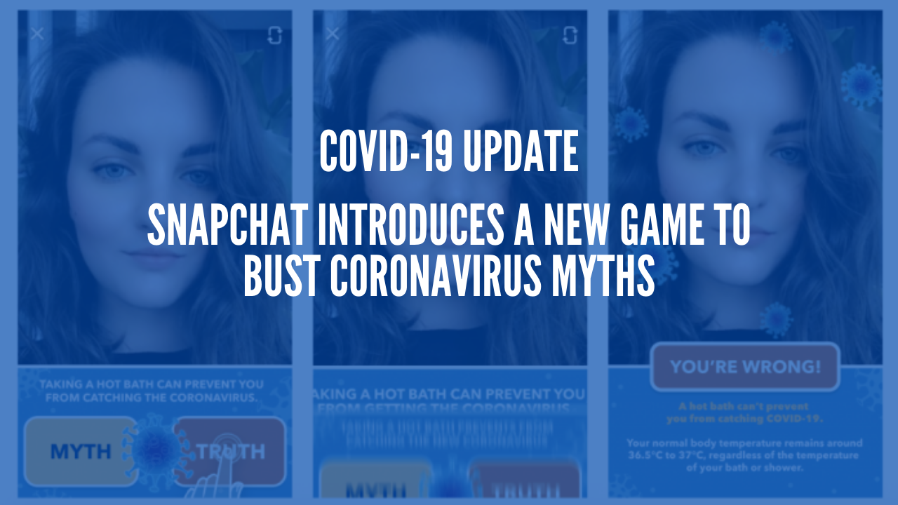 Photo of Snapchat Introduces a New Game to Bust Coronavirus Myths
