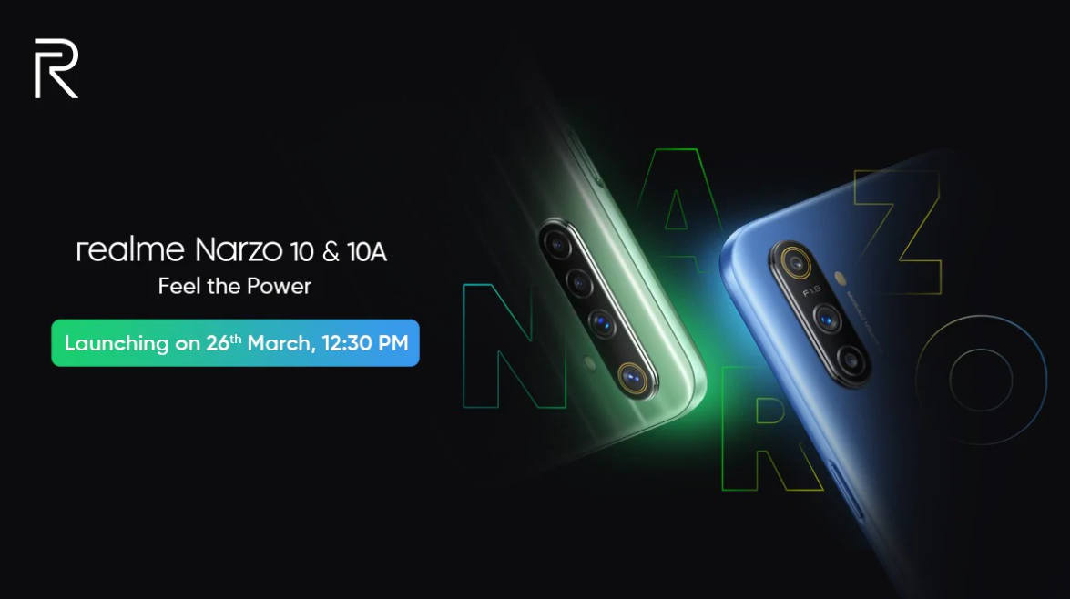 Photo of Realme Narzo 10 Teased; Featuring 48-Megapixel Quad Rear Camera