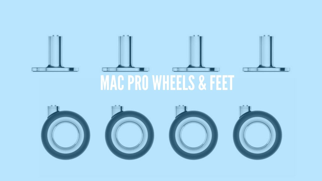 Photo of Apple now sells Mac Pro Wheels and Feet from $299 to $699