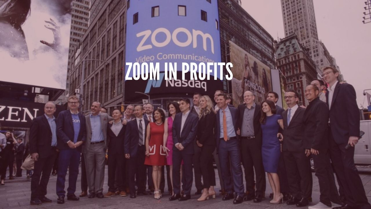 Photo of Zoom shares rise on the announcement it will join nasdaq 100 on April 30
