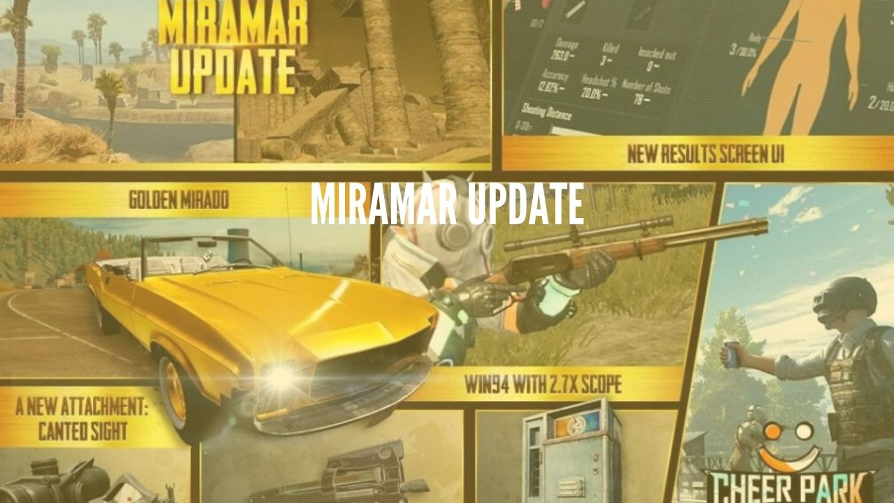 New PUBG MOBILE 0.18.0 update coming on May 7 : Miramar 2.0, Safety Scramble Mode