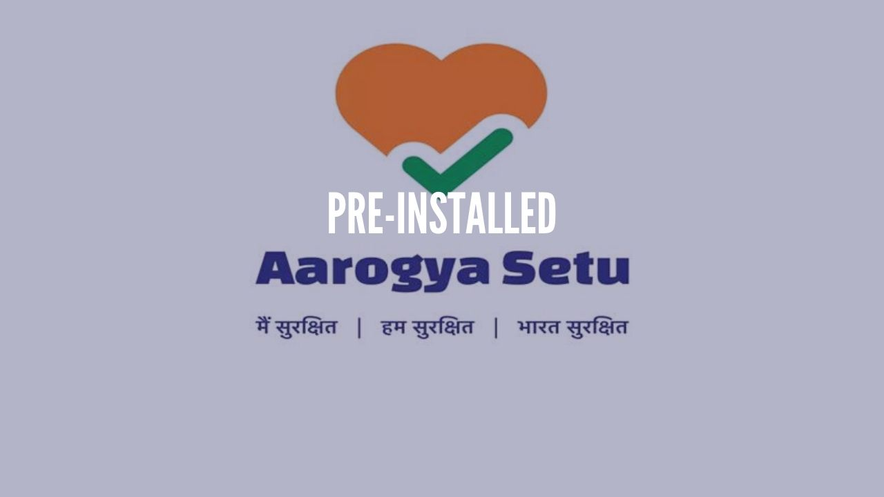 Photo of Aarogya Setu app to be pre-installed on smartphones soon