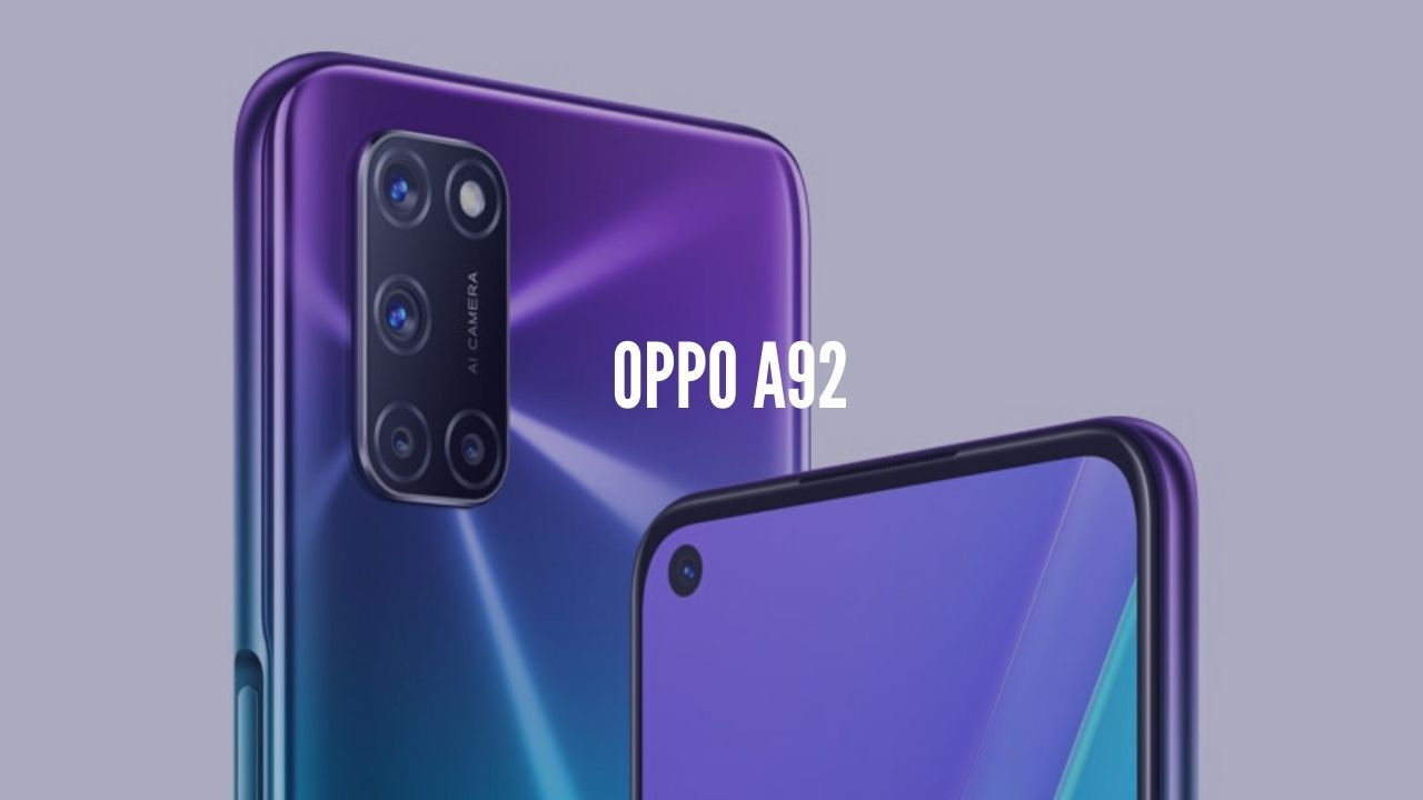 Oppo A92 Render, Price, Specifications