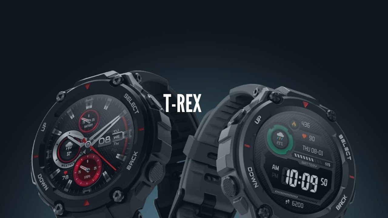 Amazfit T-Rex Smartwatch Launching in India in middle of June