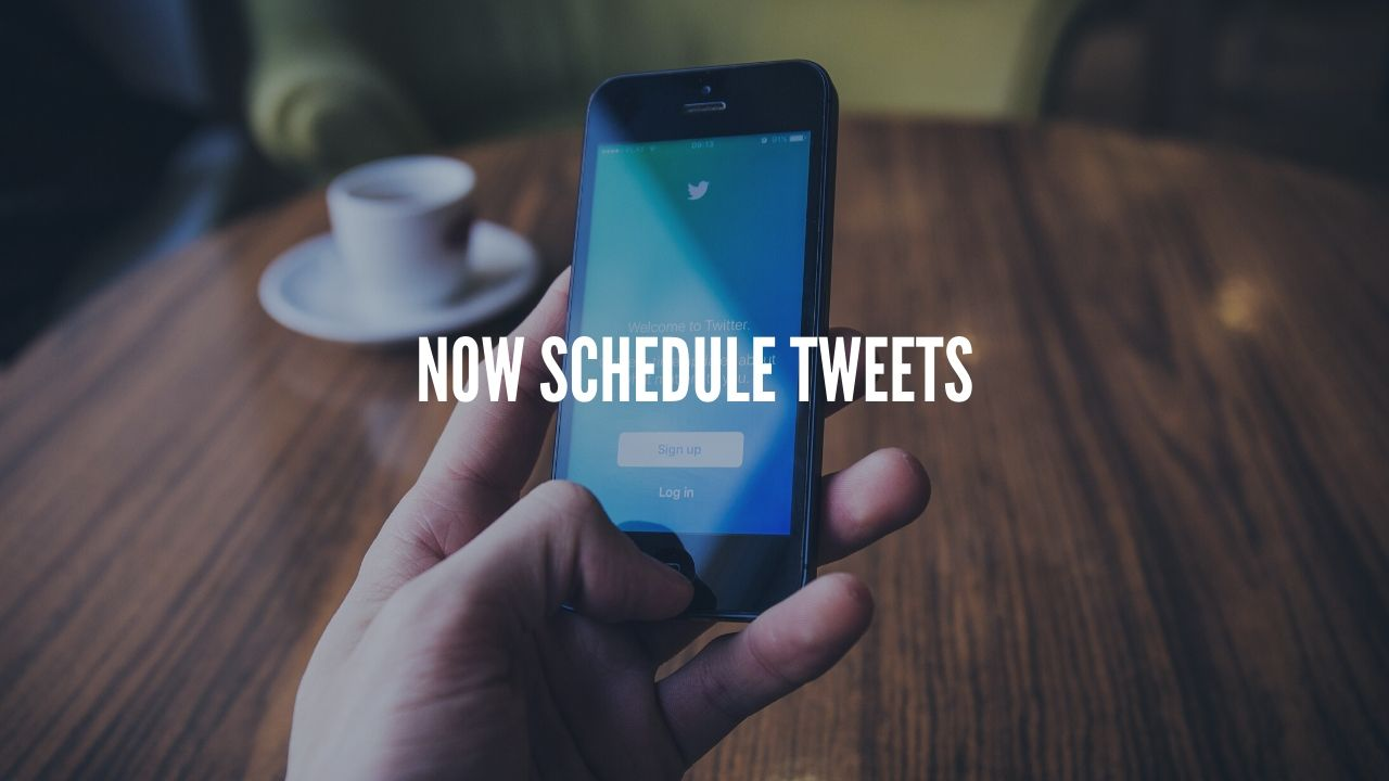 Twitter to allow users to Schedule Tweets and Save Drafts