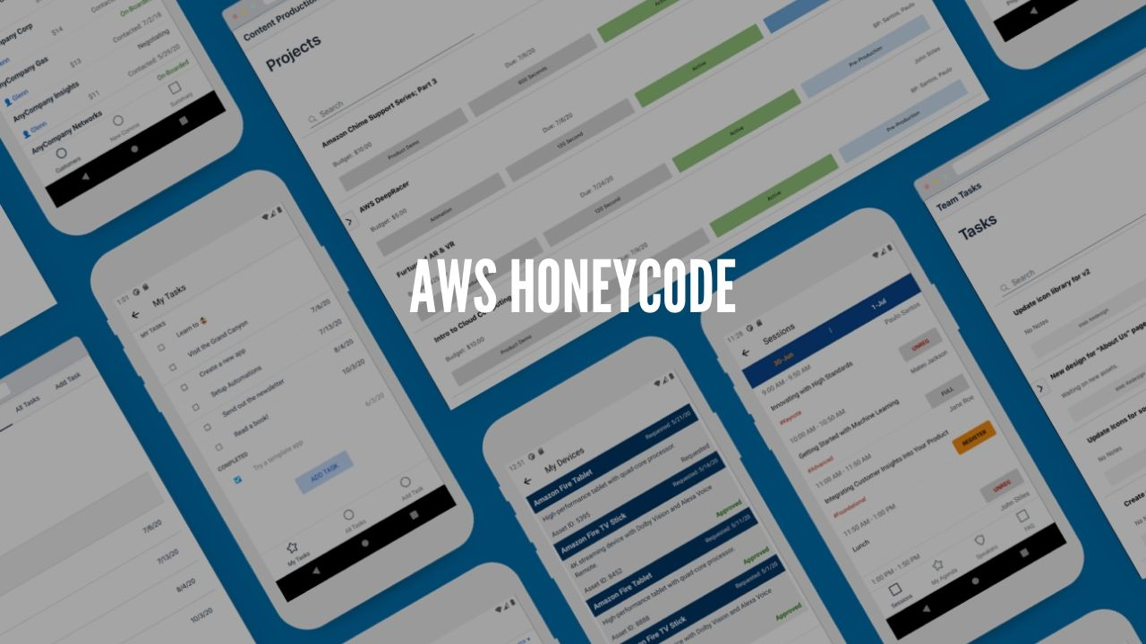 Photo of Build Apps Without Coding With Amazon Honeycode