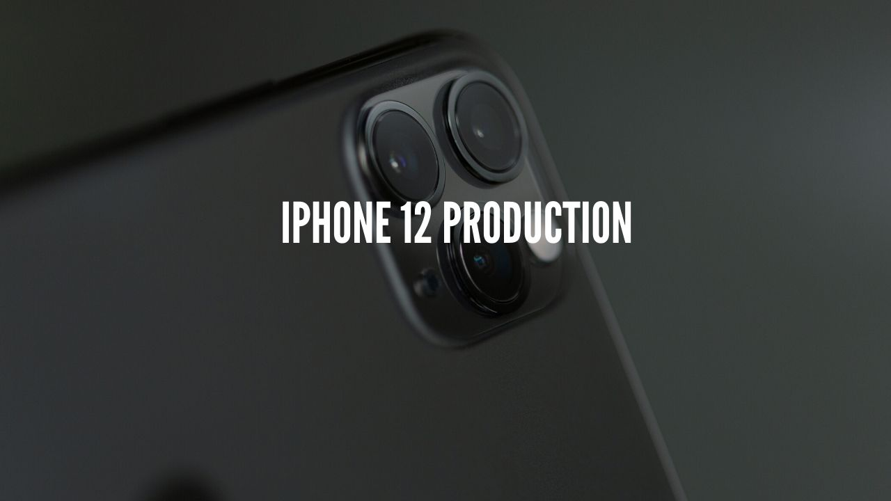 Photo of Apple's iPhone 12 production to begin in July