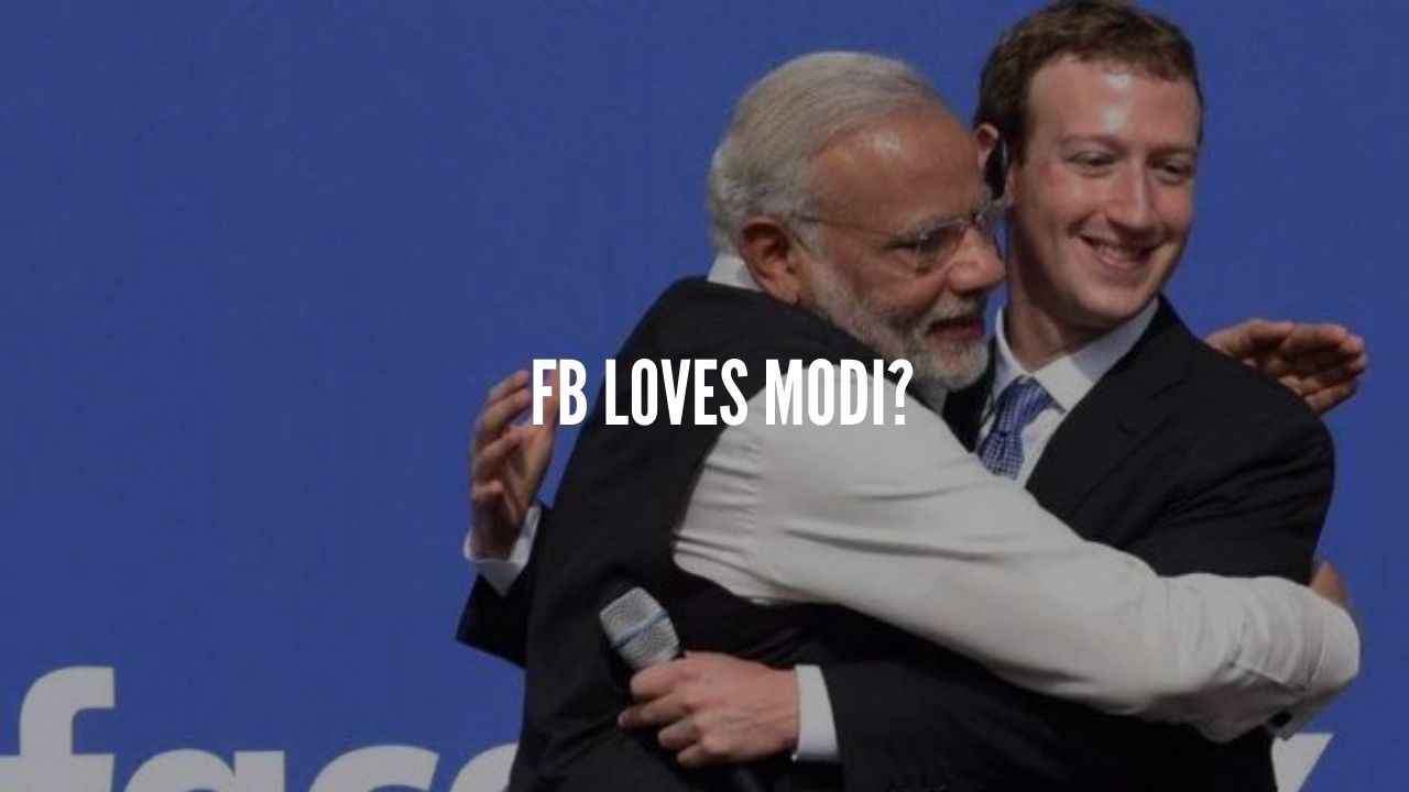 fb supports bjp
