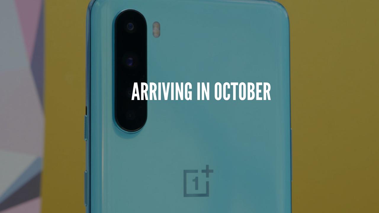 Arriving in october