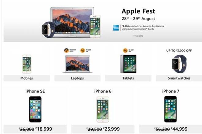 Apple has been selling its products through e commerce platforms for the longest times .