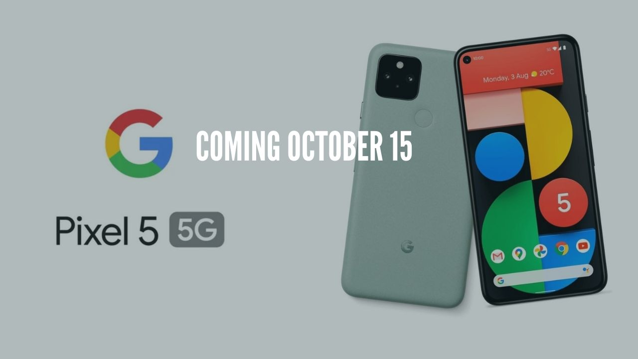 Photo of Google Pixel 5 Sale on October 15