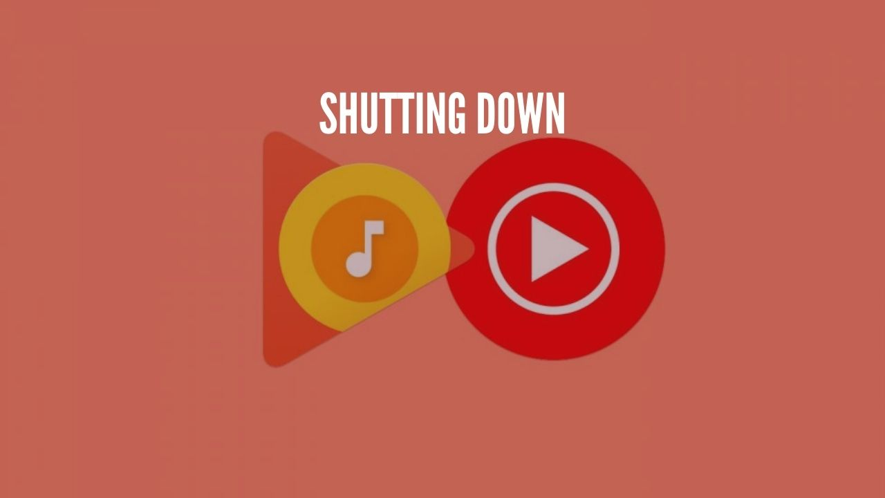 Photo of Google Play Music-Shutting Down