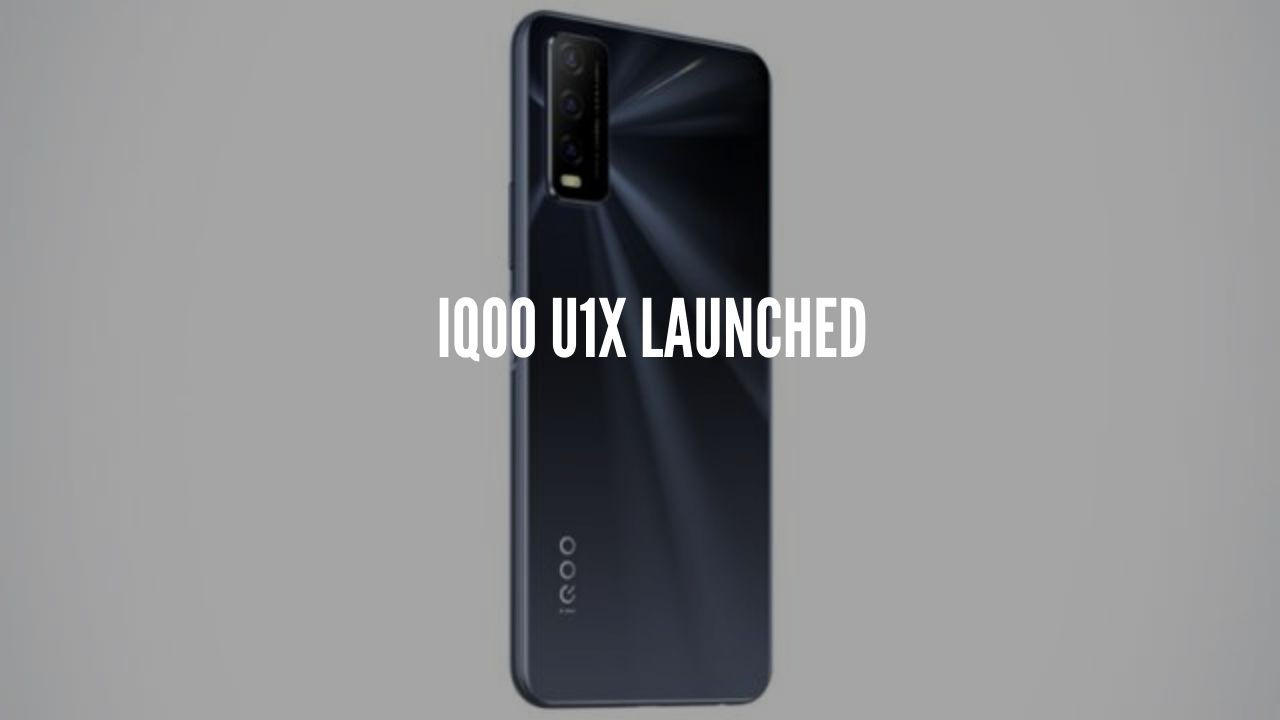 Photo of iQoo U1x With Snapdragon 662 SoC Launched
