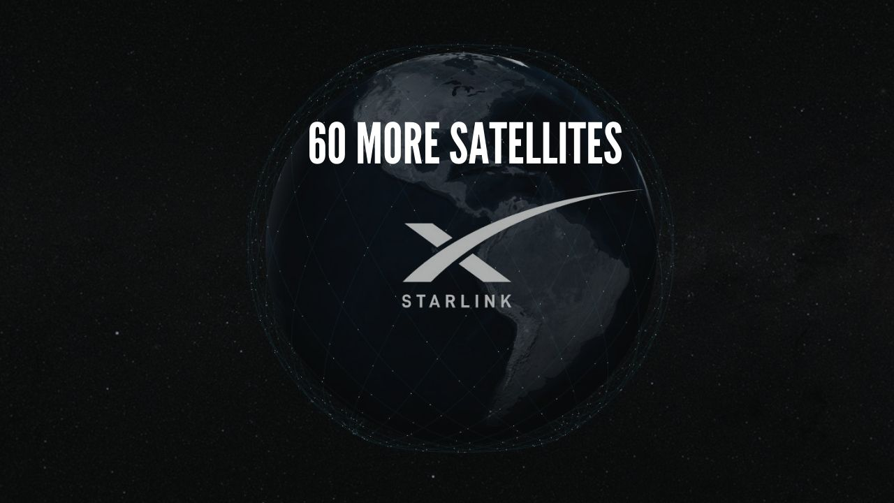 Photo of Elon Musk's SpaceX: 60 more Starlink internet satellites launch ahead of public beta