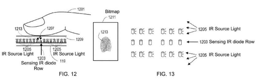 in-display-infrared-fingerprint-scanner