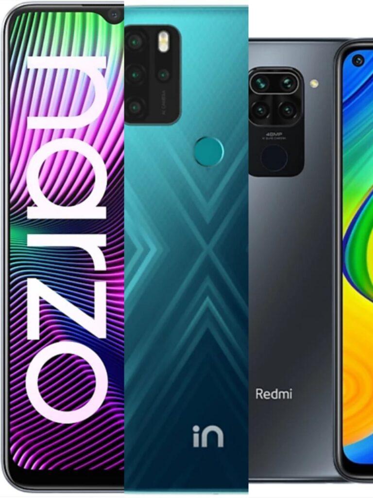 micromax-In-Note-1-vs-Redmi-Note-9-vs-Realme-Narzo-20