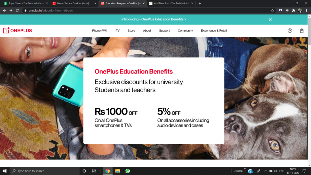How to Avail OnePlus Education Benefits?