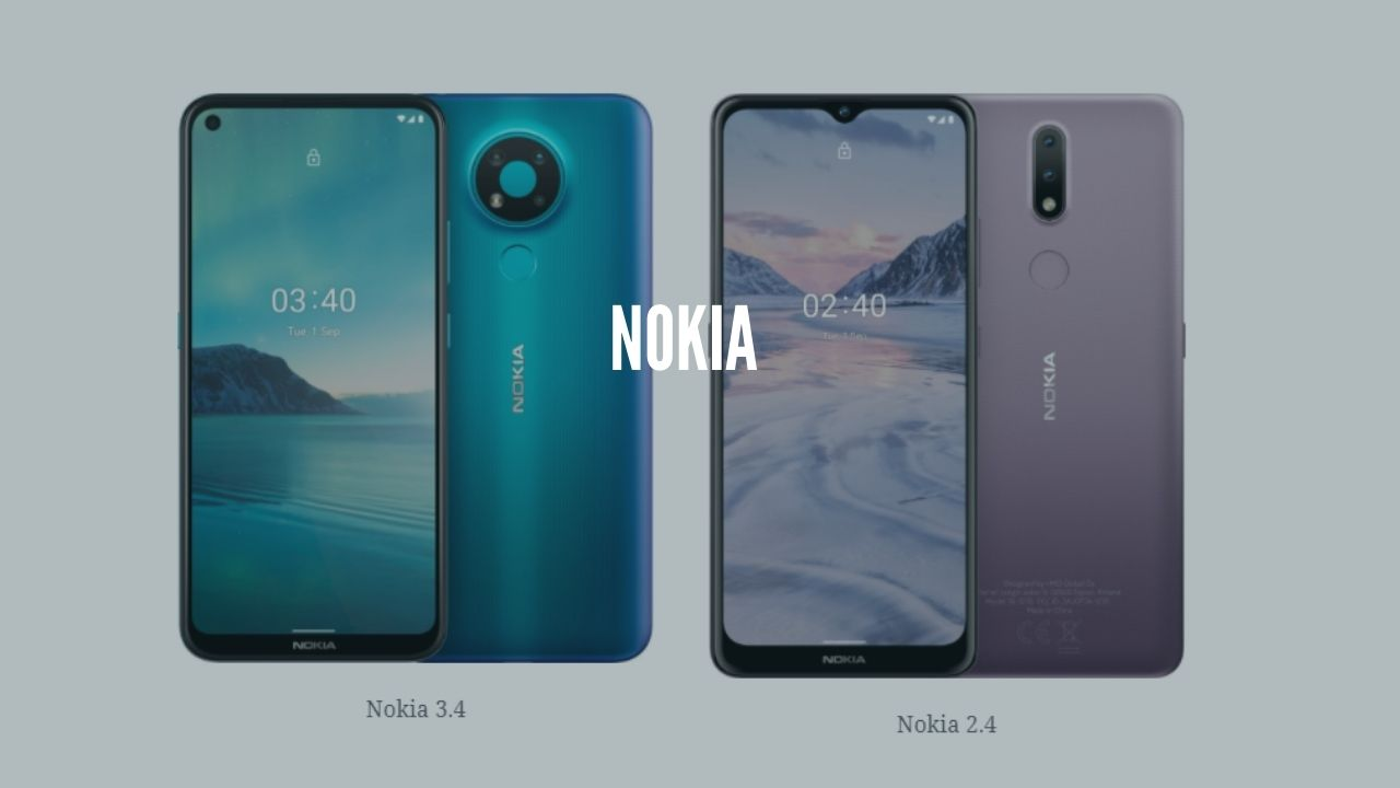 Photo of Nokia 2.4 and 3.4 to Be Launched on 26th November