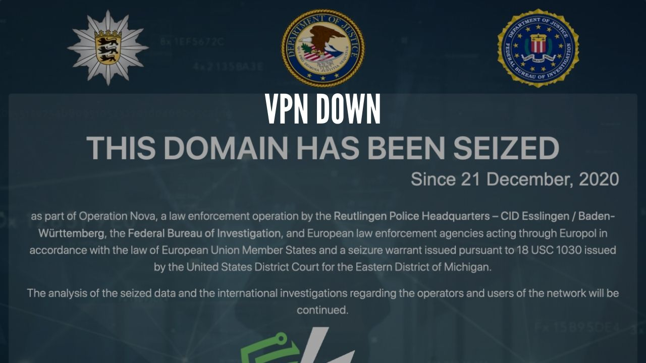 Photo of Hackers Favorite VPN Seized by FBI and Europol