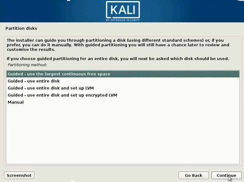 dual boot windows 10 and kali linux