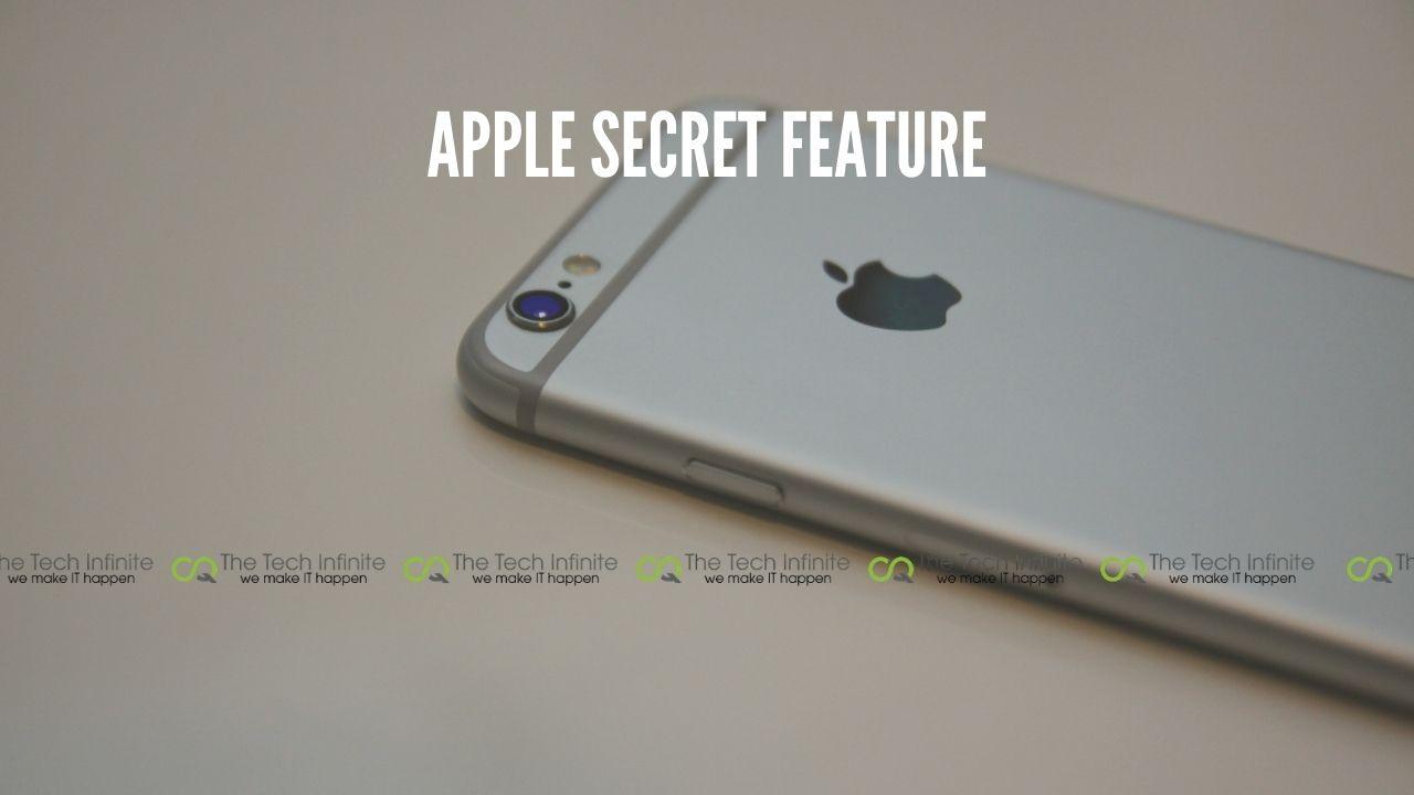 apple secret feature