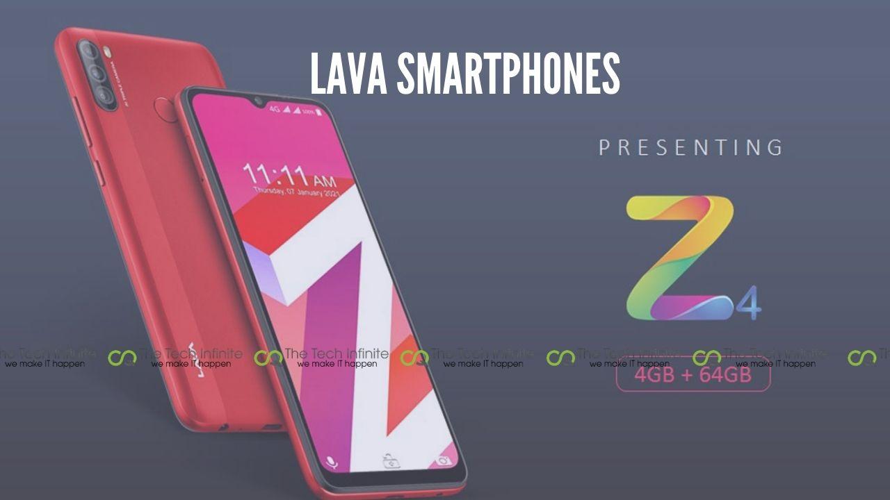 lava smartphones