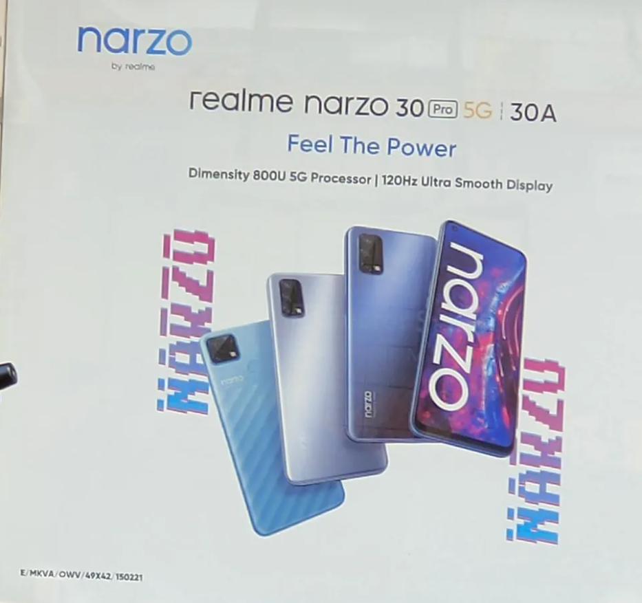 Realme-Narzo-30-series-leaked-poster