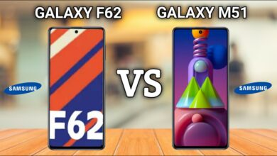 Photo of SAMSUNG Galaxy M51 VS SAMSUNG Galaxy F62