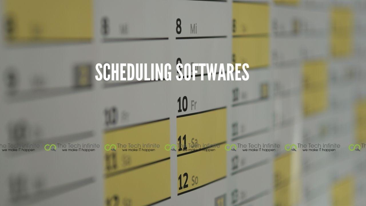 scheduling softwares