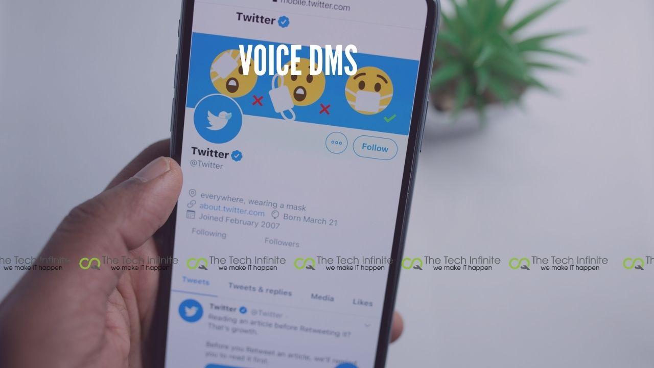 twitter voice dms