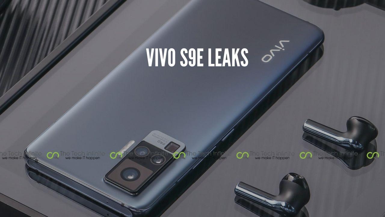 vivo s9e leaks