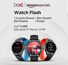 Boat Watch Flash: Budget Friendly Smartwatch