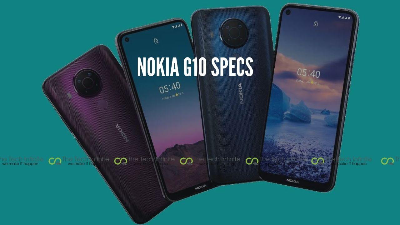 nokia g10 specs