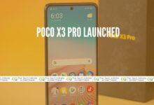 Photo of POCO X3 Pro Launched: Amazing smartphone