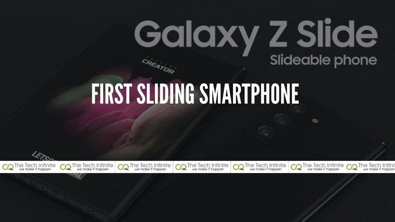 First Sliding Smartphone