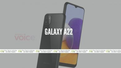 Photo of Galaxy A22 by Samsung Rendered Online