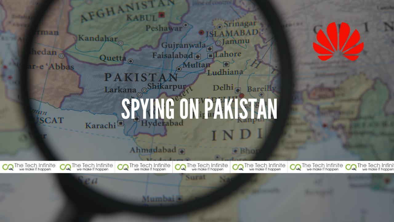 spying on pakistan